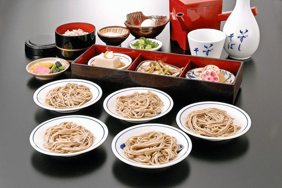 皿そば定食_M
